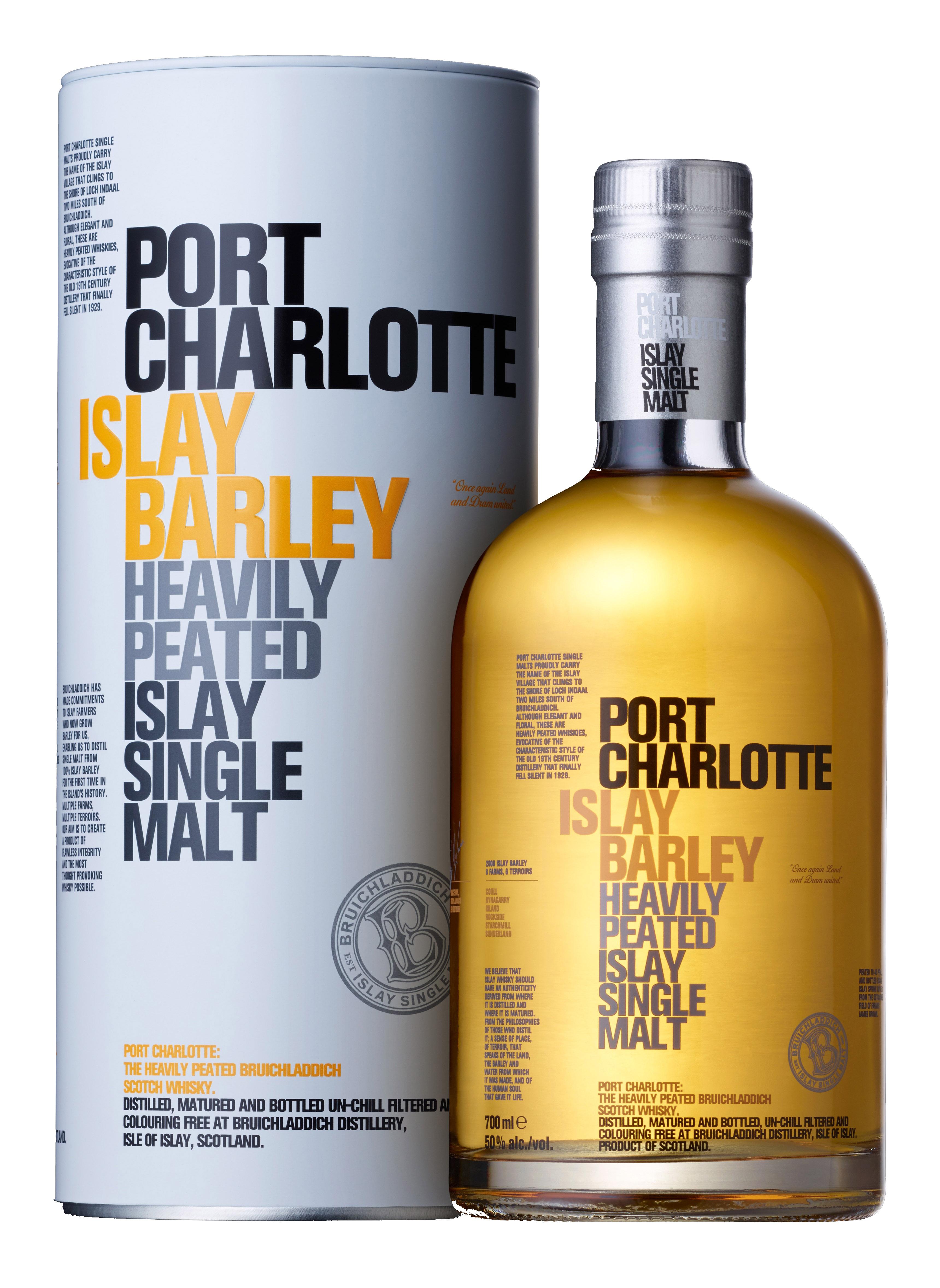 Review port charlotte islay barley swb somerset whisky blog - Bruichladdich port charlotte ...