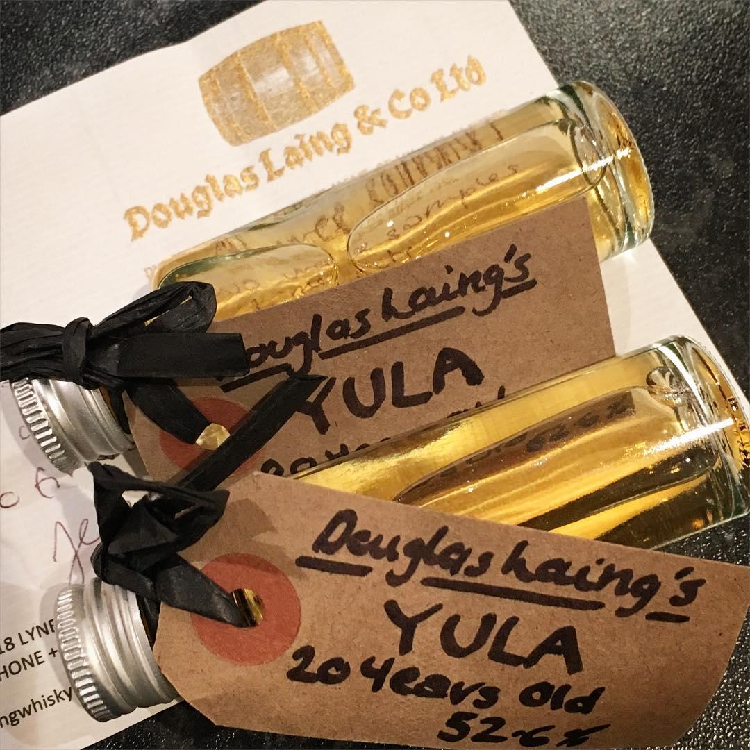 Yula Samples | SWB | Somerset Whisky Blog