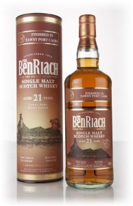 benriach 21 year old tawny port