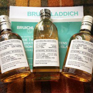 Bruichladdich 10yo Samples