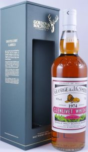 Rare Vintage Smiths Glenlivet 1974 bottled 2011 G&M whisky