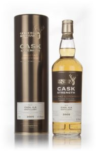 caol ila 11 year old 2005 cask strength gordon and macphail whisky G&M