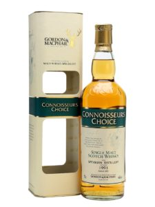 SPEYBURN 1991 2015 Connoisseurs Choice Speyside Single Malt Scotch Whisky Gordon & MacPhail