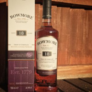 Bowmore 18 years old Travel Retail Bottle
