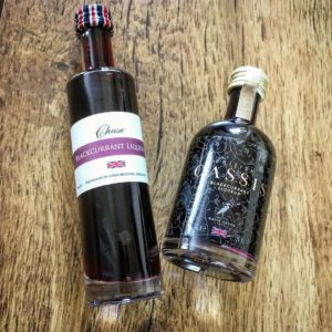 Blackcurrant Liqueur Samples