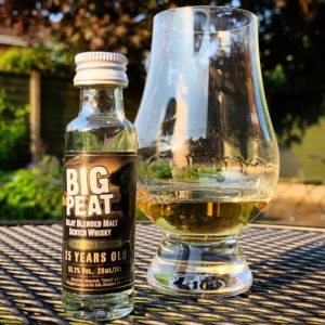 Big Peat 25 Year Old Gold Edition Sample