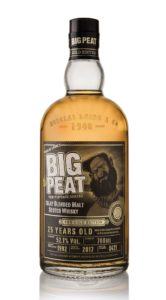 big peat 25 year old gold edition bottle